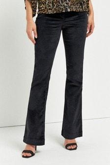 Velvet Flared Jeans