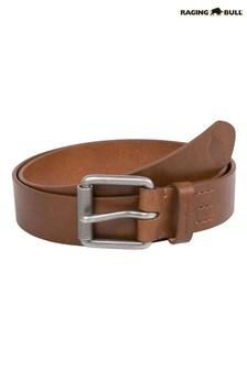 Raging Bull Brown Leather Belt