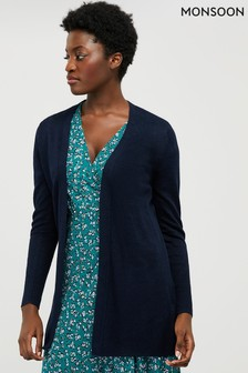 Monsoon Blue Emilia Cardigan