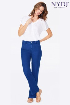 NYDJ Bright Blue Sheri Slim Ankle Jeans