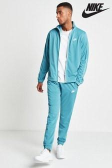 Nike Blue Poly Tracksuit