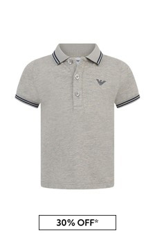 Baby Boys Pique Polo Top