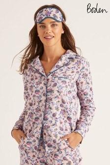 Boden Pink Janie Pyjama Shirt