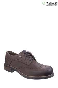 Cotswold Brown Oxford Shoes