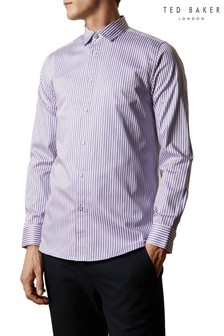 Ted Baker Desole Cotton Striped Shirt