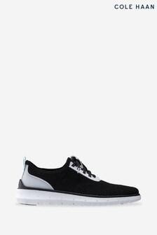 Cole Haan Black Generation Zerogrand Stitchlite Lace-Up Shoes