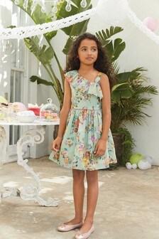 One Shoulder Prom Dress (3-16yrs)