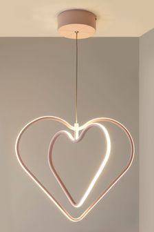 Heart LED Ceiling Light