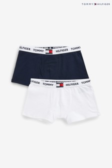 Tommy Hilfiger Red 85 Trunks Two Pack