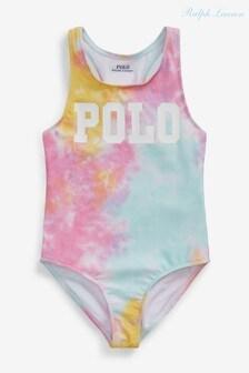 Ralph Lauren Tie Dye Polo Swimsuit