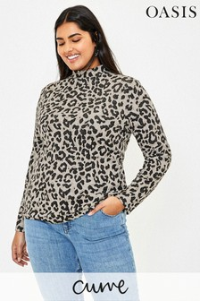 Oasis Curve Natural Animal Cosy Top