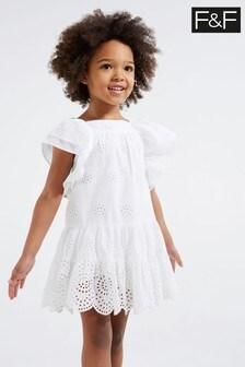 F&F White Woven Dress