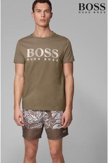 Koszulka z logo BOSS