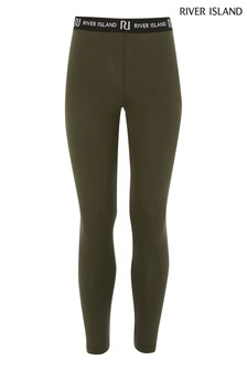 River Island Khaki Leggings