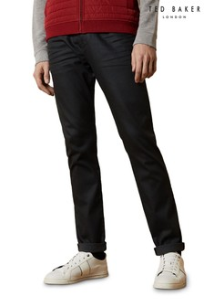 Ted Baker Tupreem Tapered Printed Hem Jeans