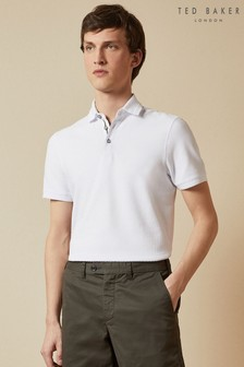 Ted Baker Infuse Textured Cotton Polo