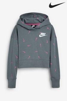 Nike Swooshfetti Cropped Hoody