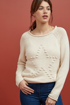 Star Knit Jumper
