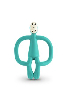 Matchstick Monkey Green Teething Toy
