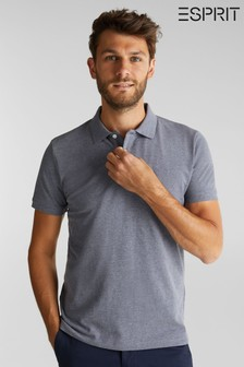 Esprit Blue Short Sleeved Polo