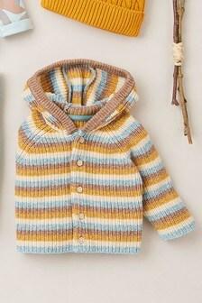 Hooded Knit Cardigan (0mths-2yrs)