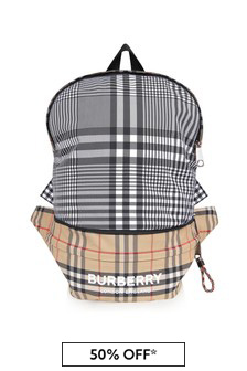 Burberry Kids Black Bag