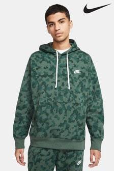 Nike Club Camo Pullover Hoodie