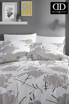 Starline Floral Duvet Cover and Pillowcase Set by D&D