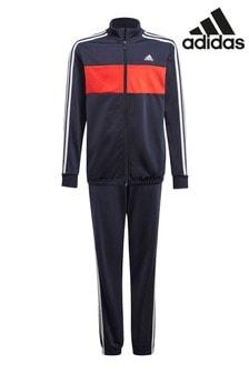 adidas Navy/red Tiberio Tracksuit