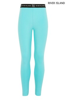 River Island Aqua Leggings