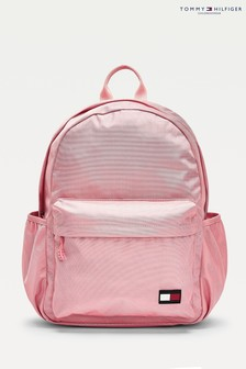 Tommy Hilfiger Pink Flag Backpack