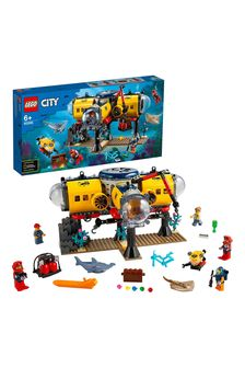 LEGO 60265 City Ocean Exploration Base Underwater Set