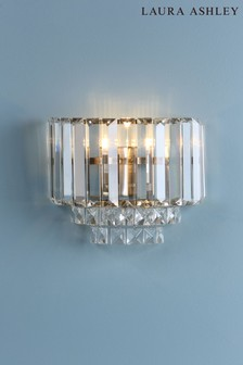 Laura Ashley Vienna Crystal Wall Light