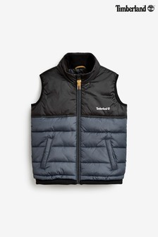 Timberland® Black/Grey Padded Gillet