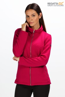 Regatta Pink Subira Full Zip Jumper