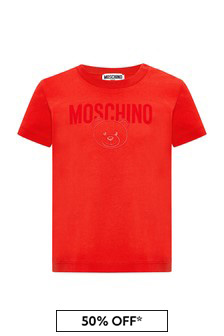 Baby Red Cotton T-Shirt