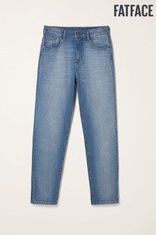 FatFace Blue Chesham Girlfriend Jeans