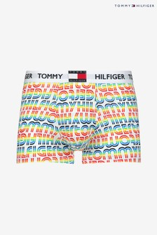 Tommy Hilfiger Yellow Rainbow Logo Trunks