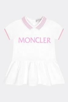 Moncler Enfant Baby Girls White Cotton Set