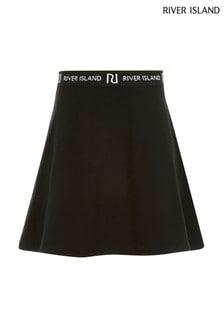 River Island Black Skirt