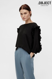 Object Black Sif Blouse