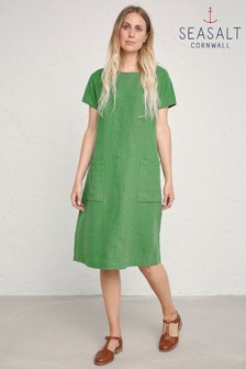 Seasalt Green Levelling Dress