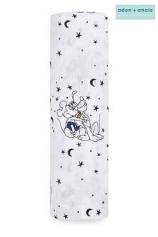 aden + anais® Essentials Muslin Swaddle Blanket - Mickey Stargazer (112 x 112cm)