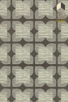 Orla Kiely Flower Tile Wallpaper