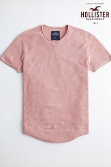 Hollister Pink Logo T-Shirt