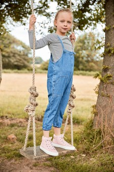 Slouchy Romper Dungarees (3-16yrs)