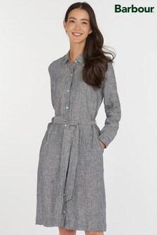 Barbour® Coastal Chambray Linen Tern Shirt Dress