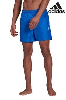 adidas 3 Stack Solid Swim Shorts