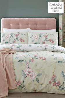 Floral Trail Duvet Cover and Pillowcase Set by Catherine Lansfield