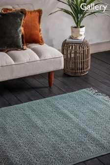 Wentworth Geo Fringed Rug by Gallery Direct